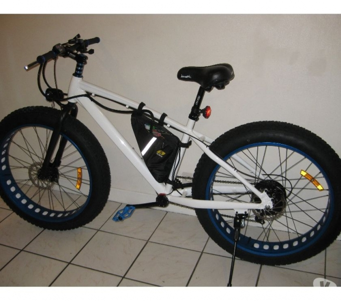 v lo vtt fat bike v a e lectrique 48v 500w blanc 650 00. Black Bedroom Furniture Sets. Home Design Ideas