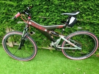 Trek Y33 Carbon Mountain Bike  Bon Etat