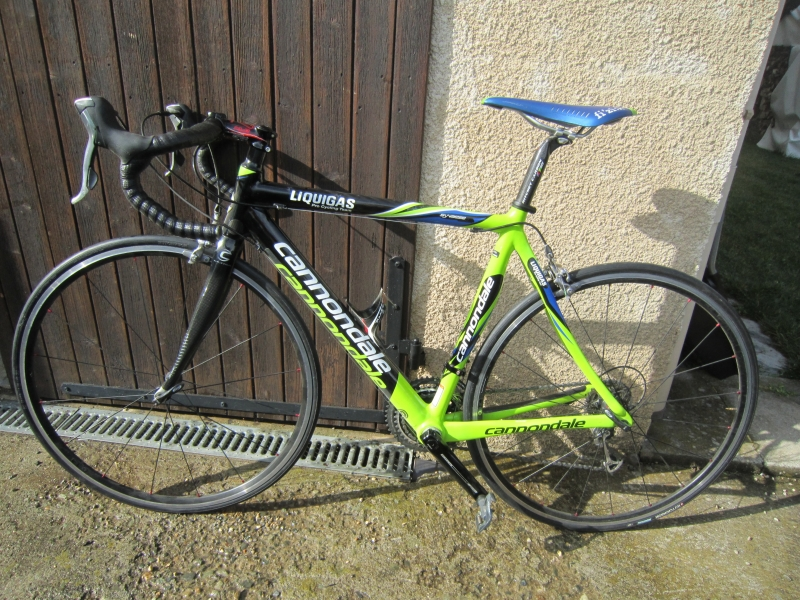 Cannondale Synapse Carbone Sl Liquigas Taille 53