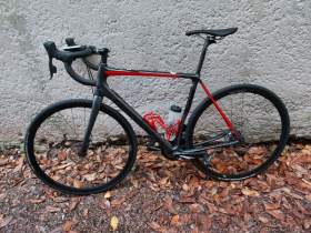 Vends Cannondale Synapse Carbon Disc Red Etap